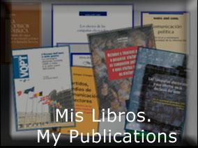 Mis libros. My Books. María José CANEL